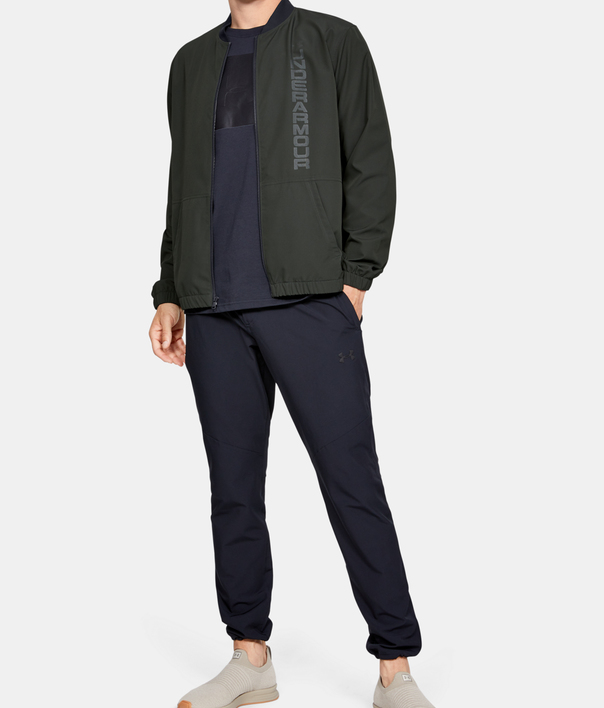 Bunda Under Armour Unstoppable Essential Bomber-Grn (6)
