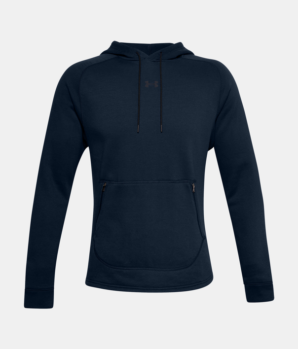 Mikina Under Armour Charged Cotton Fleece HD-NVY (3)