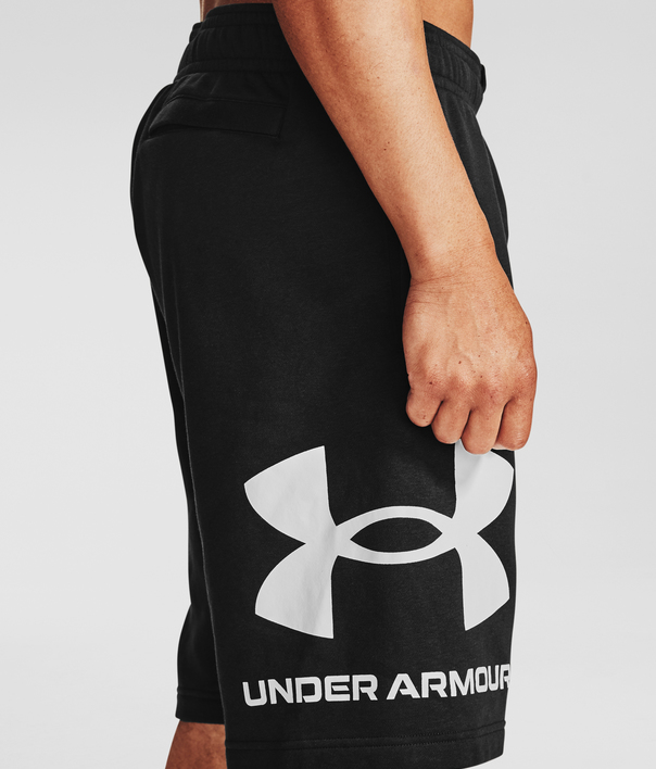 Kraťasy Under Armour UA Rival FLC Big Logo Shorts-BLK (4)