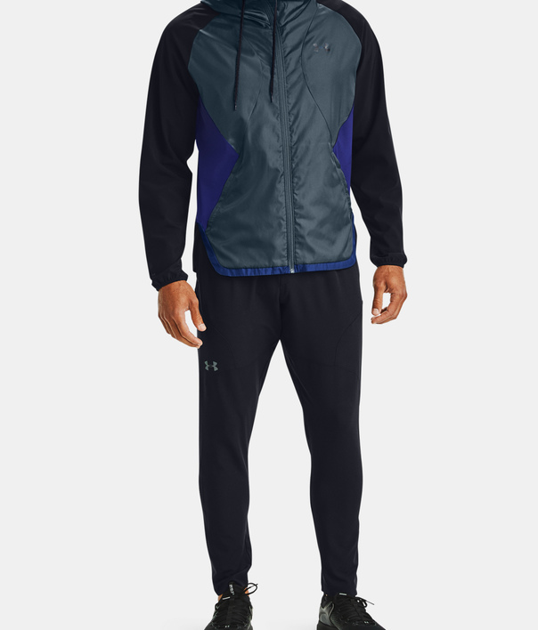 Bunda Under Armour STRETCH-WOVEN HOODED JACKET-BLK (8)