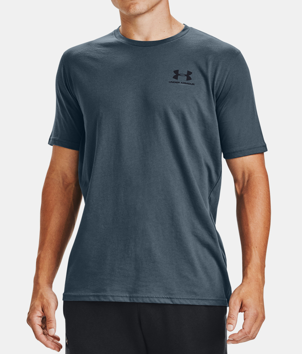 Tričko Under Armour SPORTSTYLE LC SS-BLU (1)