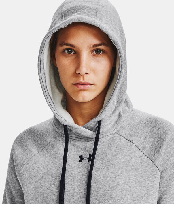 Mikina Under Armour Rival Fleece HB Hoodie-GRY (5)