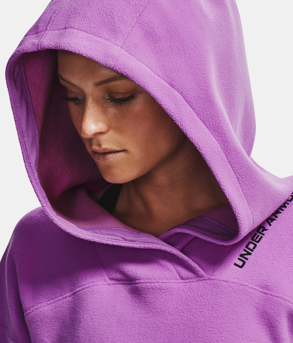 Mikina Under Armour Recover Fleece Hoodie-PPL (7)