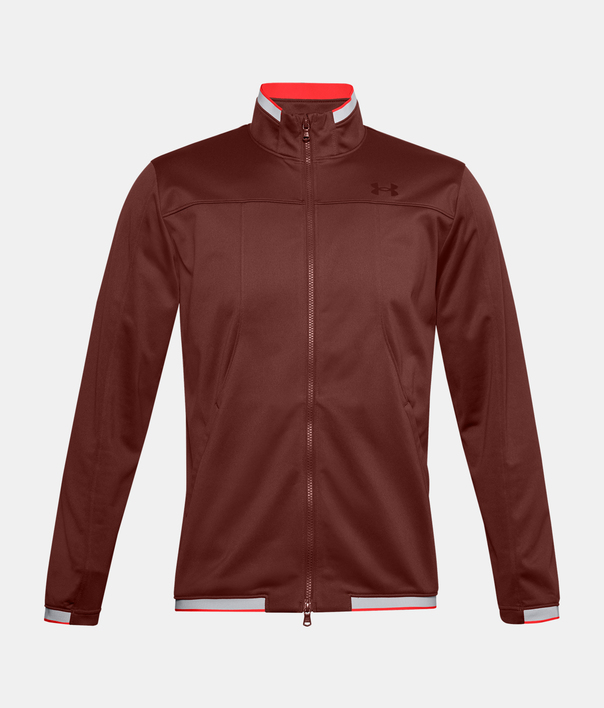 Bunda Under Armour UA Recover Knit Track Jacket-RED (1)