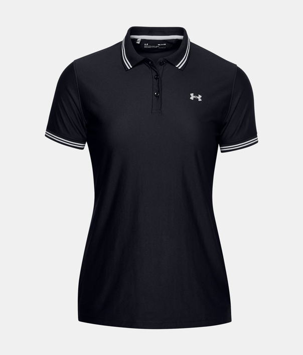 Tričko Under Armour Zinger Pique Polo-BLK (3)