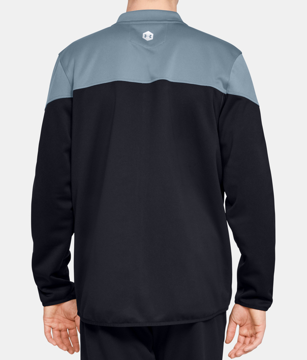 Mikina Under Armour Athlete Recovery Knit Warm Up Top-GRY (2)