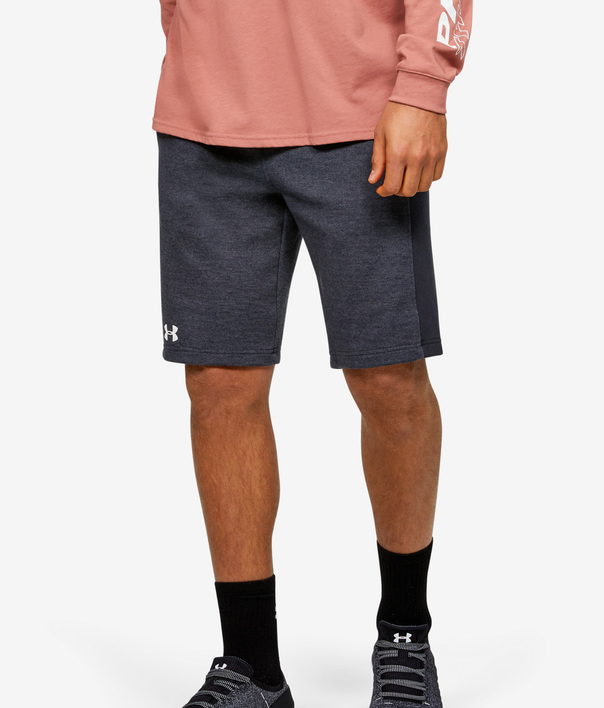 Kraťasy Under Armour DOUBLE KNIT SHORT-BLK (1)