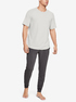Tričko Under Armour Recovery Sleepwear Ss Crew-Wht (5)